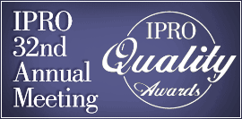IPRO 32nd Annual Meeting Logo